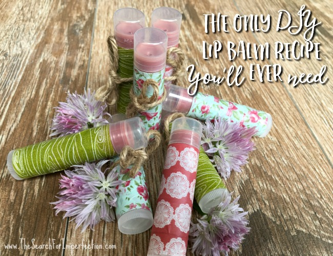 The Only Homemade Lip Balm Recipe You'll Ever Need