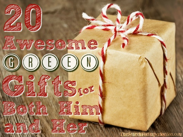 20 Awesome Green Gift Guide for both Him and Her