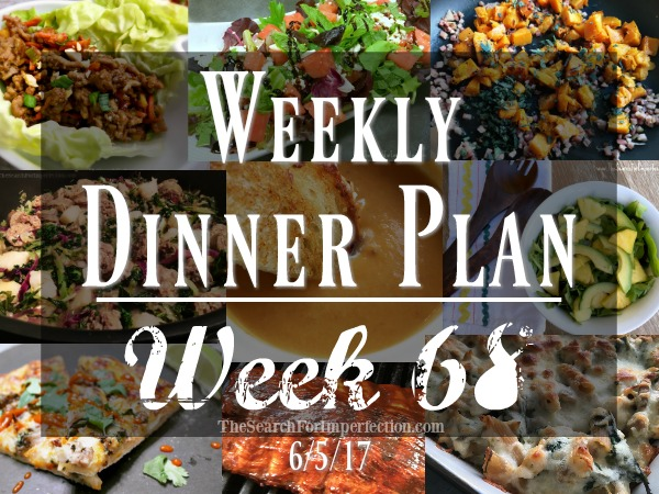 Weekly Meal Plan #68